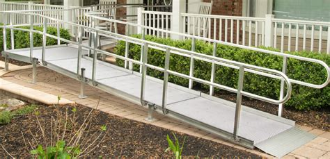 aluminum modular wheelchair ramp  shipping