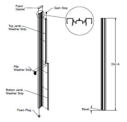 window door replacement parts balances jambliners balance track jamb carrier replacement
