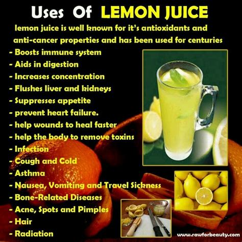 Lemon Juice Detox Benefits by Uses Of Lemon Juice Detox Cleanse Health Benefits