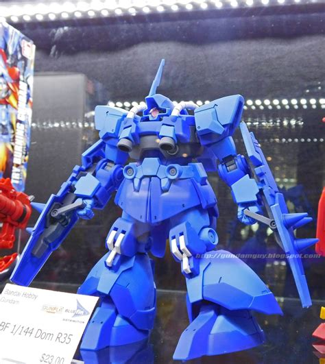 High Grade 1144 Build Fighter Dom R35 Rals Mobile Suit Ori Bandai gundam hgbf 1 144 dom r35 on display anime expo 2015 los angeles