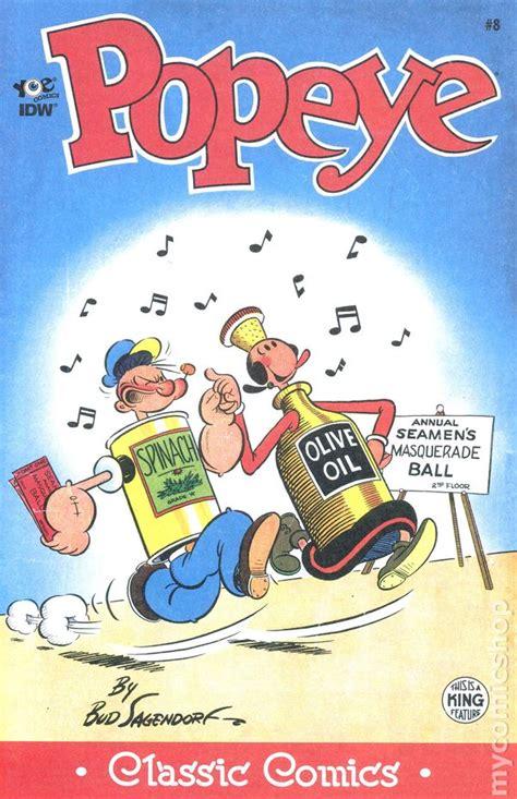 the nacoochee mound in classic reprint books classic popeye 2012 idw comic books