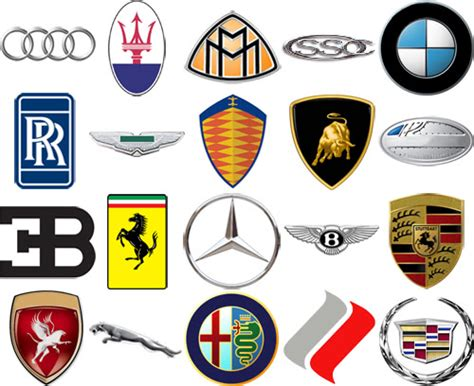 luxury car logos and names car brands 2013 geneva motor