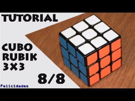 tutorial rubik s cube 3x3 tutorial cubo rubik 3x3 8 de 8 orientar esquinas
