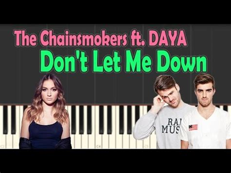 tutorial dance don t let me down the chainsmokers don t let me down ft daya piano