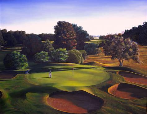 ausgolf golf art