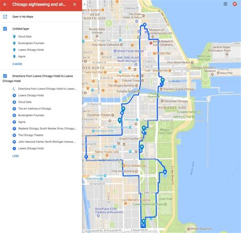 top attractions map how to see some of the top chicago sights on your own