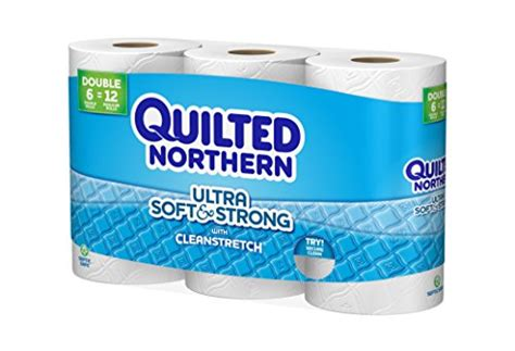 northern bathroom tissue quilted northern ultra soft and strong bath tissue 12 count