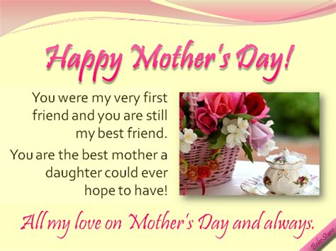 happy mothers day greetings for friends