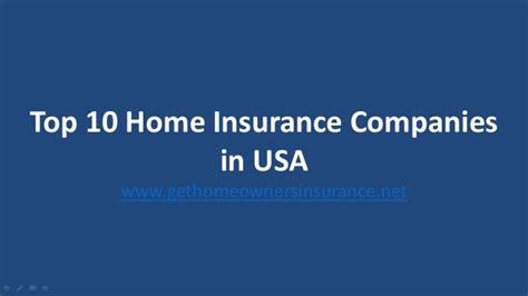 top house insurance companies top 5 homeowners insurance companies usa