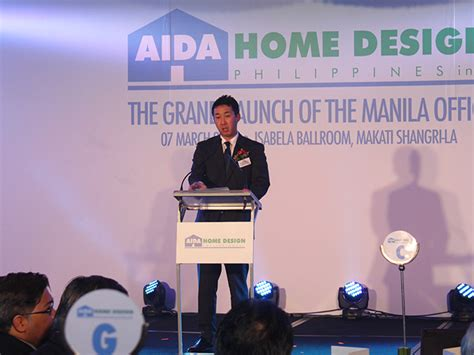 187 aida home design philippines inc 開業記念式典がmakati shangri