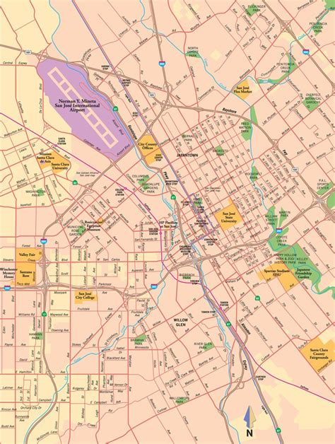 san jose city map san jose city map maplets
