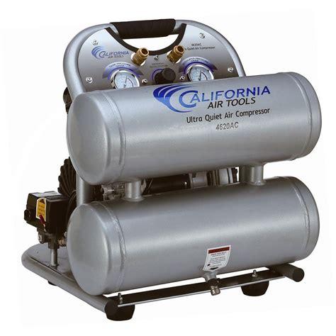 california air tools 4620ac 22060 ultra and free 2 0 hp 4 0 gal aluminum tank
