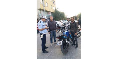 polis motorsiklet sueruecelerine goez actirmiyor