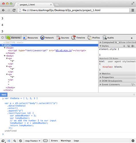 inner function javascript using data bound to dom elements dashingd3js