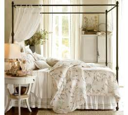 Pottery Barn Canopy Bed Cool Home Creations The Look For Less Canopy Bed