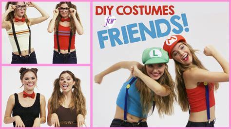 diy halloween costumes  wear  friends  nina