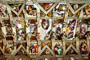 What Is Painted On The Ceiling Of The Sistine Chapel by Exploring Rome And The Vatican City