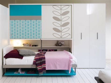 small teen bedroom cool murphy bed exles for decorating small sized