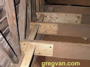 Floor Joist Repair Floor Joist End Repairs