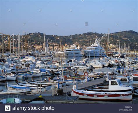 porto imperia marina porto maurizio imperia liguria italy stock photo