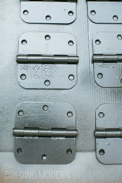 Spray Paint Door Hinges by Painting Hollow Doors Spray Painting Hardware
