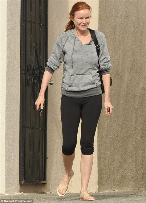 Marcia Cross Diet And Workout by Marcia Cross Sports Youthful Glow As She Steps