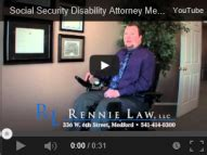 Medford Social Security Office by Bankruptcy Attorney Medford Social Security Disability