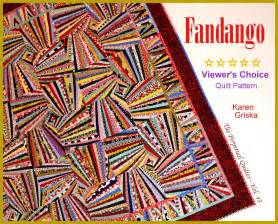 griska quilts new fandango quilt pattern