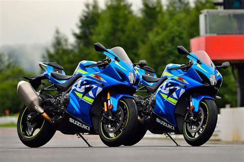Suzuki 1000 Gsxr by Bike 2017 Suzuki Gsx R1000 And Gsx R1000r Cycleonline