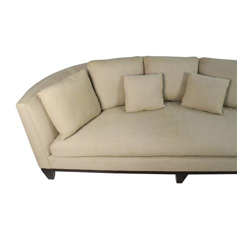 conversation sofa 83 off barbara barry barbara barry conversation sofa
