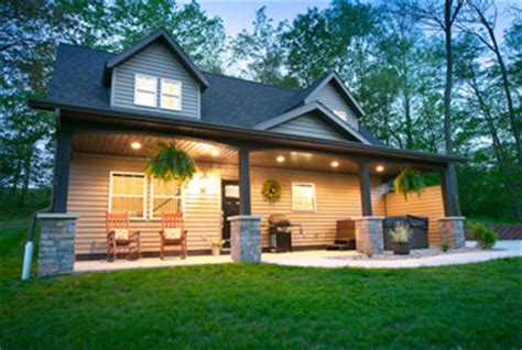 Sugarcreek Ohio Cabins by Briarwood Amish Country Cabins On The Edge Of A Wood By