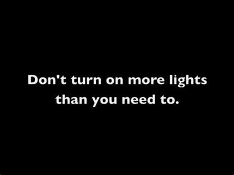 turn off the lights youtube save energy turn off the lights shineon youtube