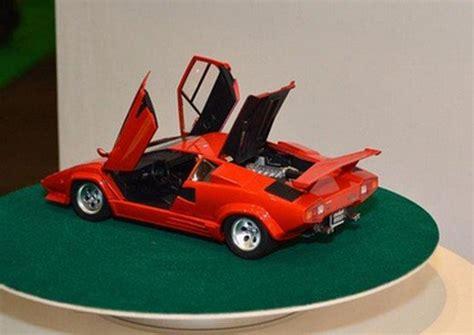 Rc Mobil Lamborghini Aventador Skala 124 Orange aoshima ao 01154 1 24 car no 18 lamborghini