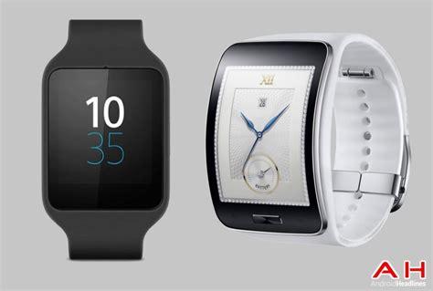 Samsung Gear S Smartwatch Comparison Smartwatch Comparisons Sony Smartwatch 3 Vs Samsung Gear S Androidheadlines