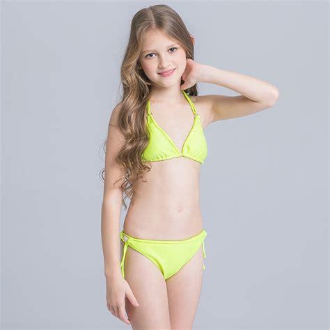 child girl swimwear bikinis fashion cute child girl halter swimwear suits irder