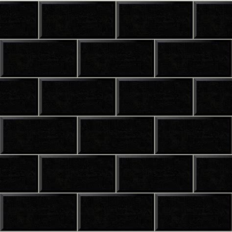 Bathrooms With Subway Tiles by Arthouse Wallpaper Romano Brick Black At Wilko Com