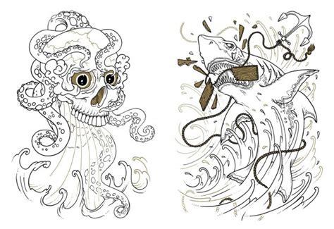 tattoo flash colouring book 7 coloring books for weird parents raising weird kids