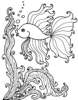 free coloring pages tropical fish coloring pages aquarium tropical fish