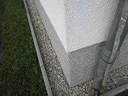 Sockel Spritzwasserschutz by Haussockel Sockel Hausgarten Net