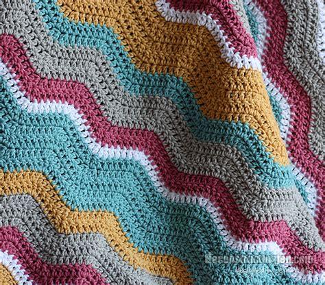 crochet pattern ripple baby blanket baby ripple blanket deconstructing jen