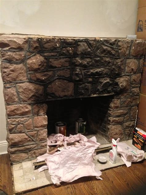 Paint Marble Fireplace by Fireplace Paint Or Not Paint