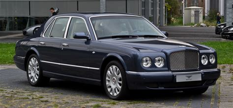 bentley arnage r file bentley arnage r facelift frontansicht 2 3