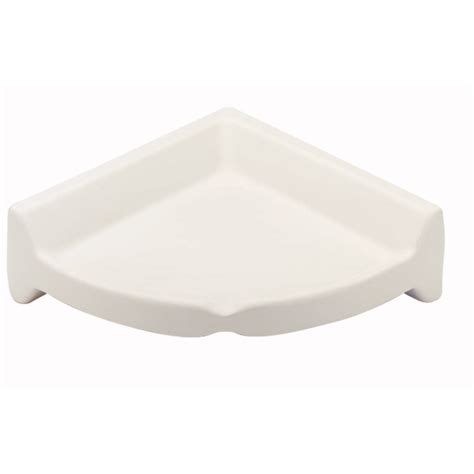 Ceramic Shelf Bathroom by Shop Interceramic 8 1 4 In X 2 3 4 In White Ceramic