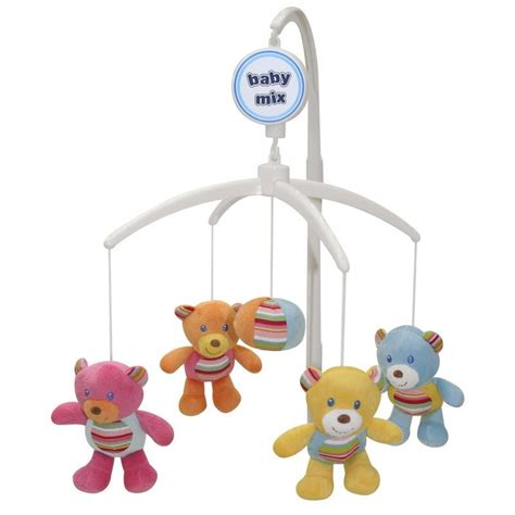 Crib Play Toys by Baby Nursery Cot Crib Mobile With Soothing Musical