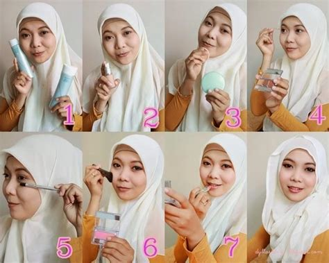 tutorial makeup natural muslimah wardah tutorial makeup muslimah android apps on google play