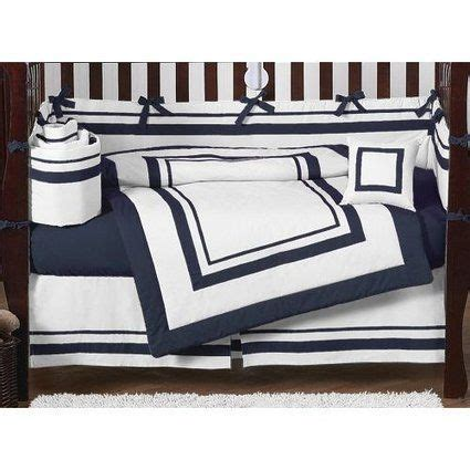 navy blue crib bedding blue tie