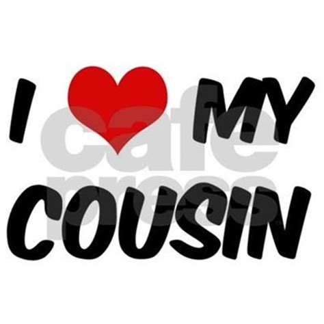 i love my cousin bib by hipfamily