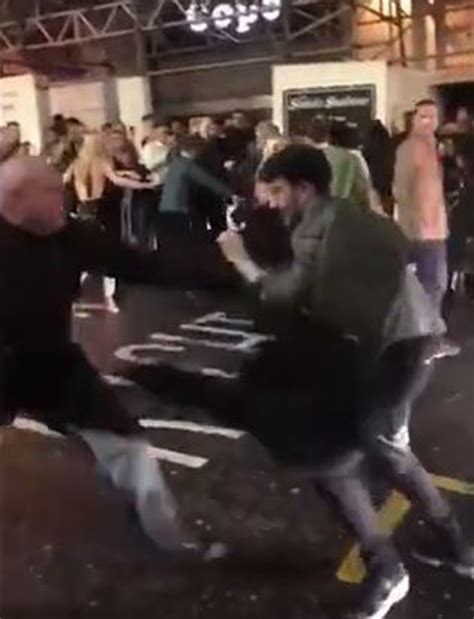 bouncer beats up guy in bathroom bouncer filmed knocking out revellers in nightclub