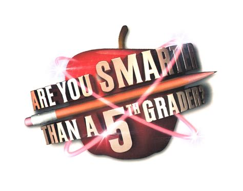 Are You Smarter Than A 5th Grader By Uamg Content Llc Are You Smarter Than A 5th Grader Template