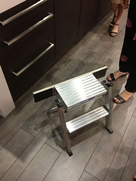 Toe Kick Step Stool by Discover And Save Creative Ideas